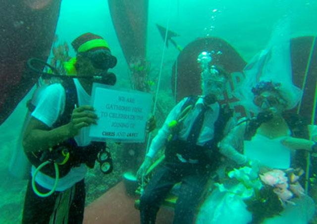 Pernikahan dalam air