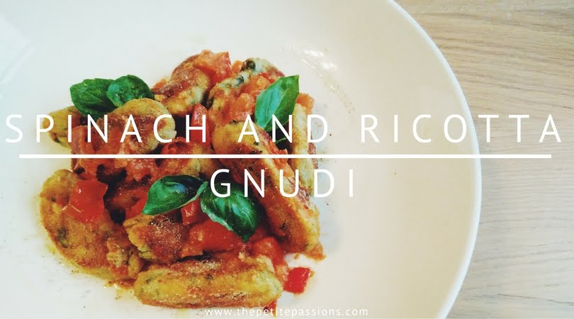Spinach and ricotta gnudi recipe