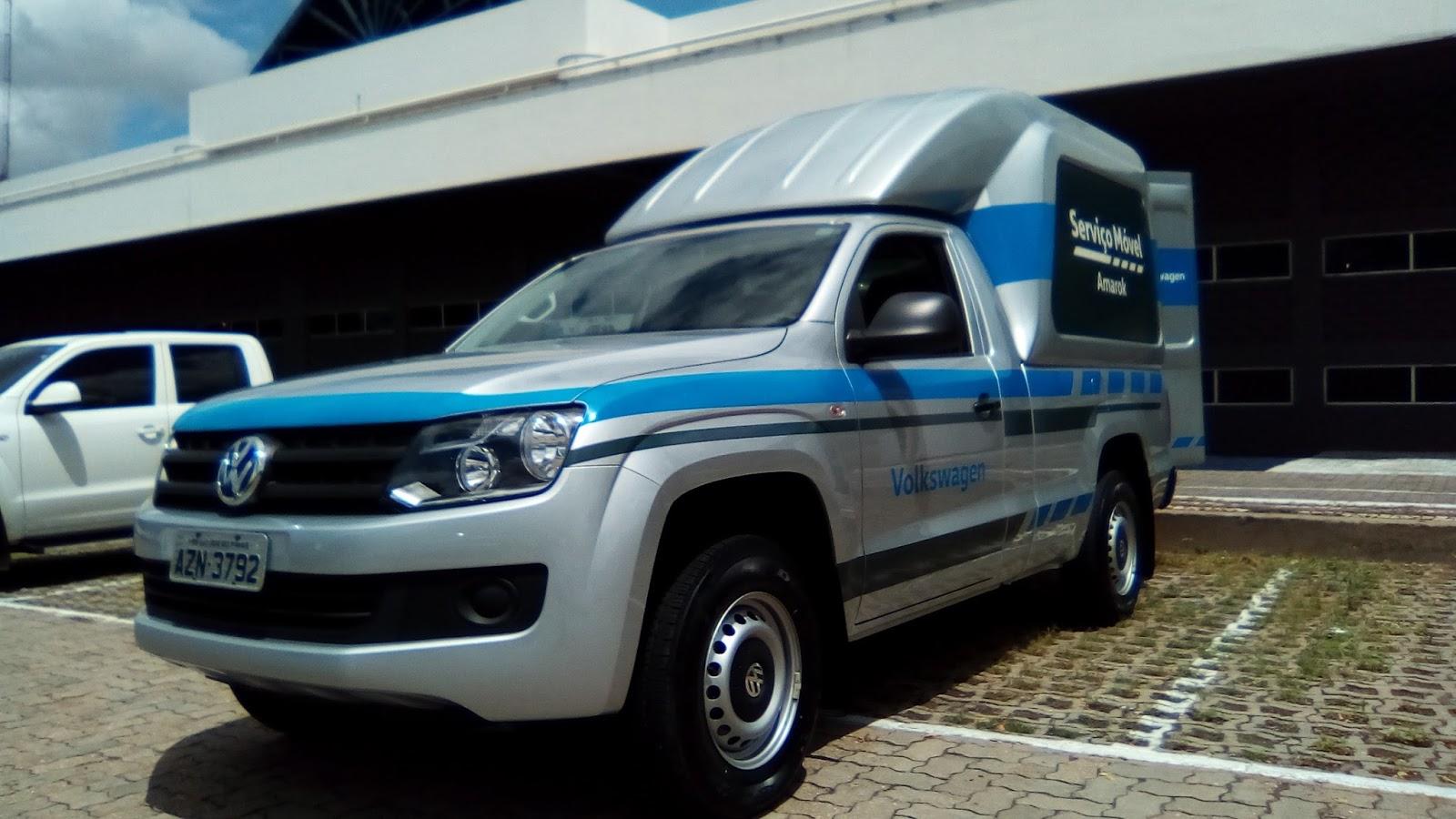 Volkswagen Amarok Serviço Móvel: excelência em serviços onde o cliente estiver