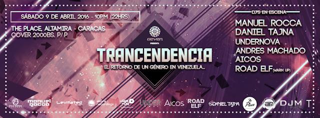 trnacendencia the place 9 de abril electrónica rumba