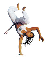 Woman in Capoeira