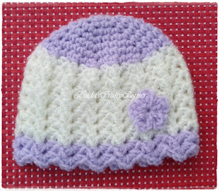 free pattern,crochet baby hat, easy, simple, free preemie hat pattern
