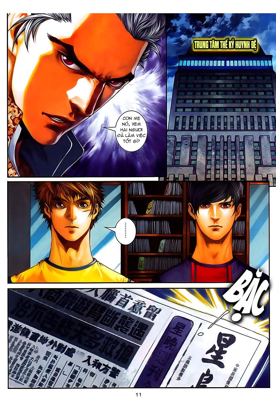 Quyền Đạo chapter 8 trang 11