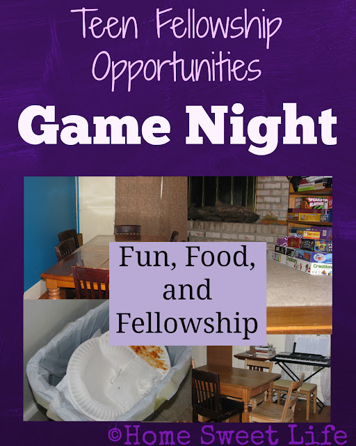 Teen Fellowship, Game Night