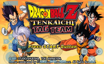 Download Game Dragon ball Z Tenkaichi Tag Team For PSP Android