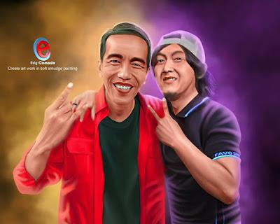 Foto Bareng Pak Jokowi