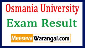 Osmania University Results 2017 Check BA, B.Com & B.Sc Result