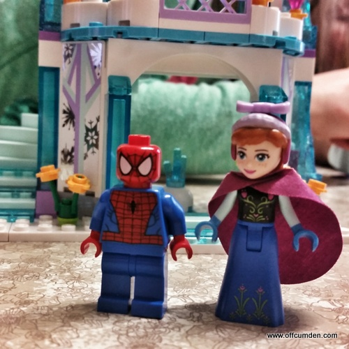 spiderman marries Anna