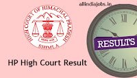 HP High Court Clerk Result