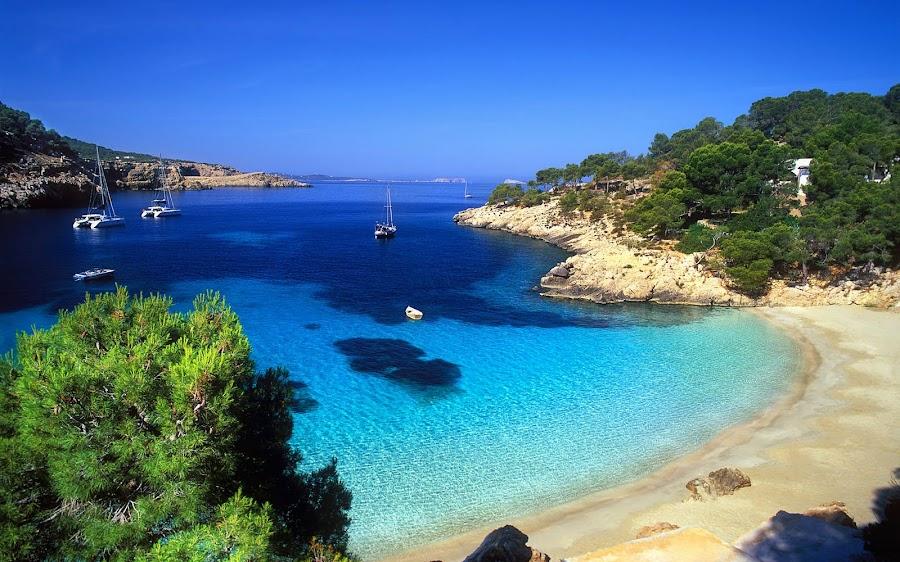 Las playas de Ibiza, viajes y turismo