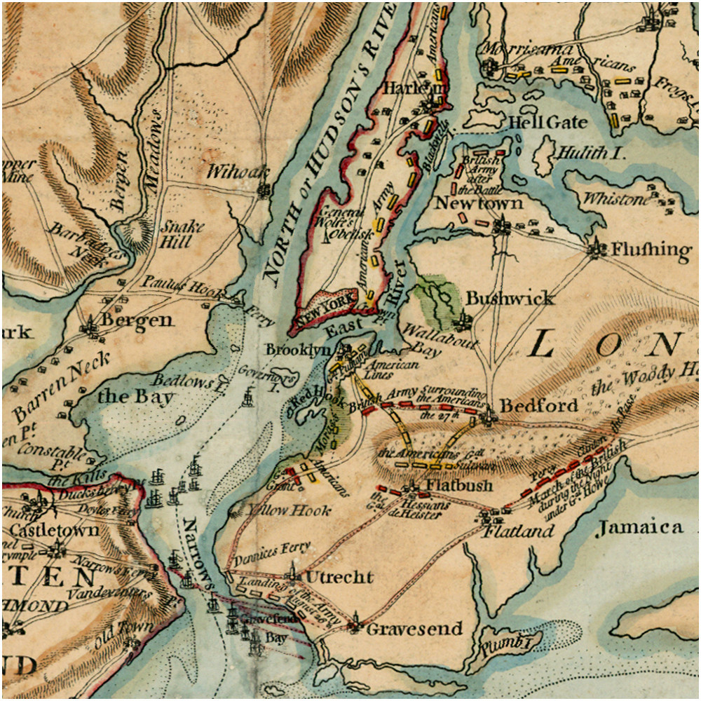 knowledge of the tides and shoals was critical in navigation around new york