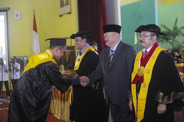 Gubernur Sumsel Yakin Unsri Segera Menjadi World Class University