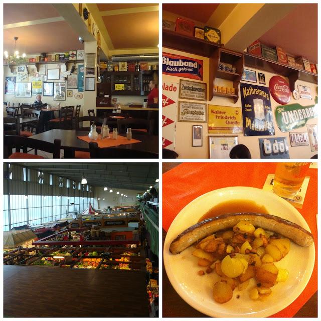 Onde comer em Frankfurt - Kleinmarkthalle - Marktstubb