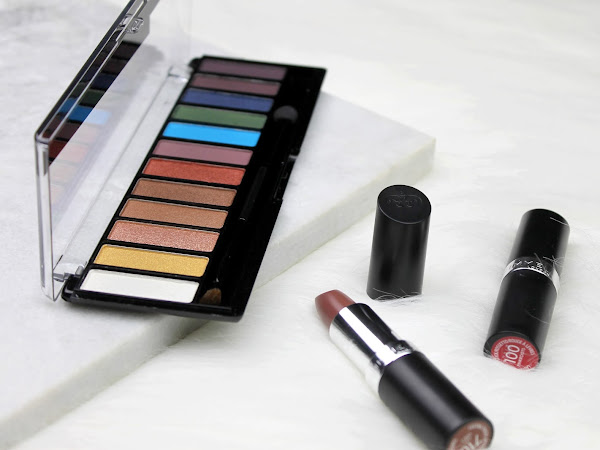 Rimmel London Magnif'eyes Oogschaduw palette & lipsticks