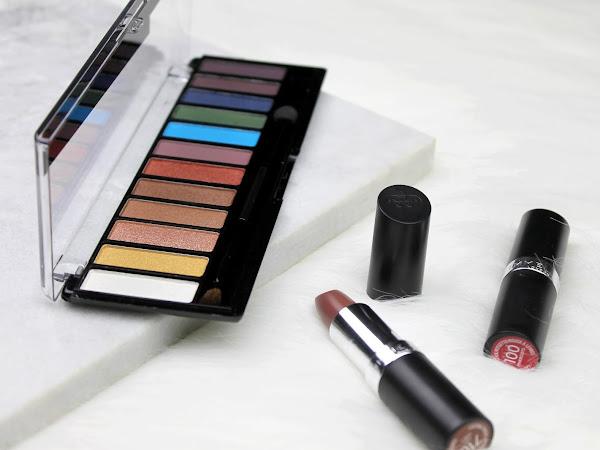 Rimmel London Magnif'eyes Oogschaduw palette & lipsticks