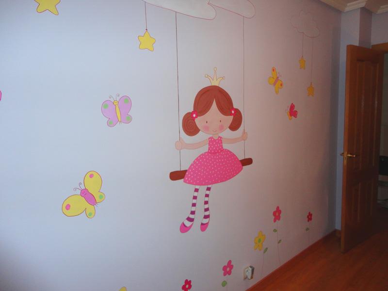 Dibujos de flores para pintar en paredes free imagen with - Pintar mural en pared ...