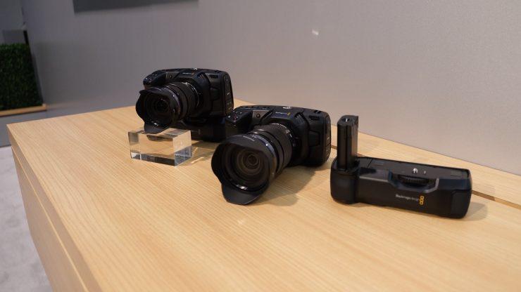 Батарейный блок для Blackmagic Pocket Cinema Camera 4K