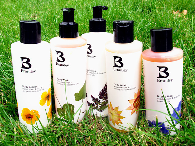 Bramley bath and body products