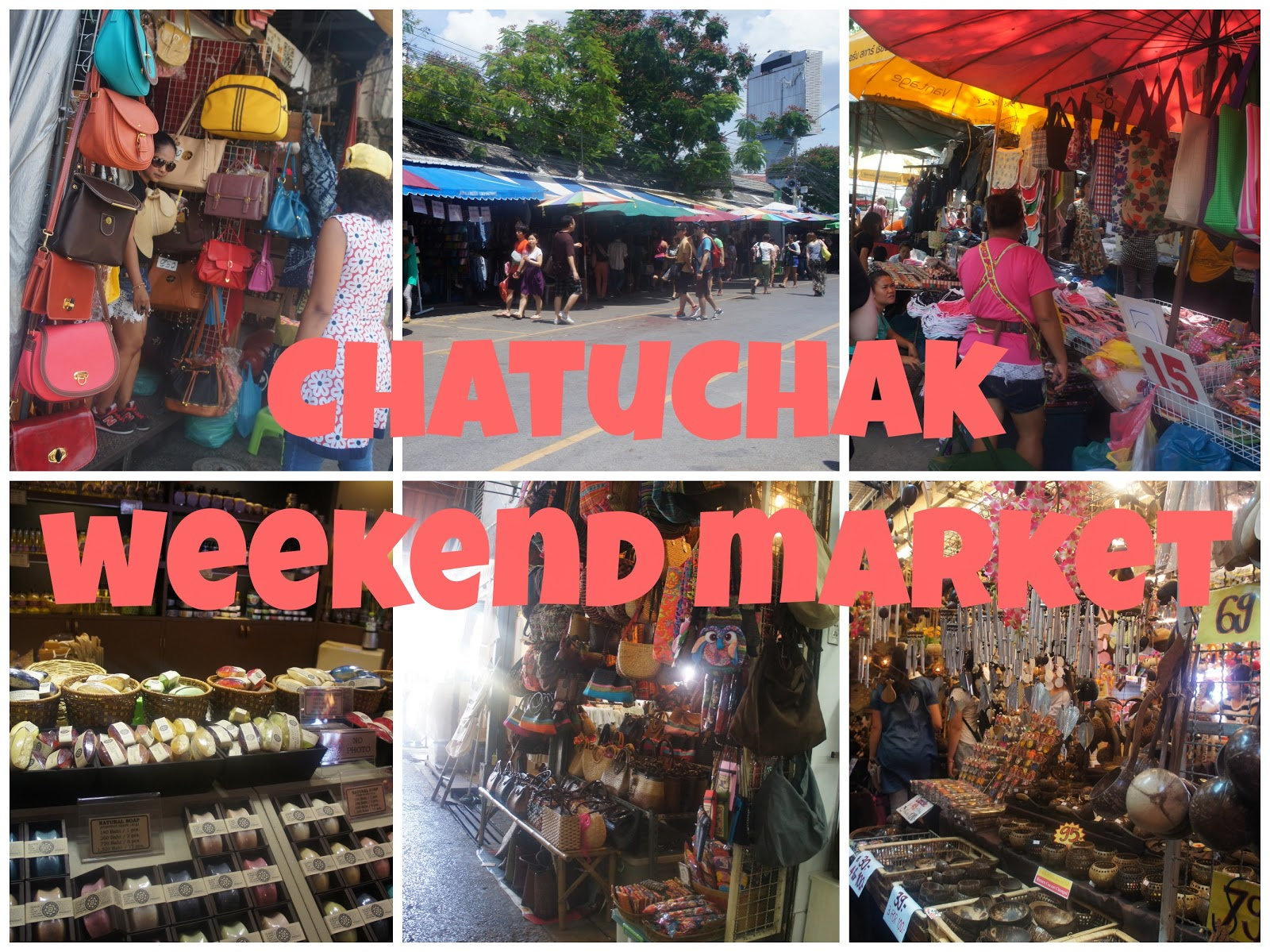 Chatuchak Weekend Market Bangkok Thailand Travel Guide