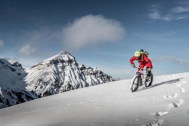 Downhill Schnee Fatbike Blaser Steinach am Brenner