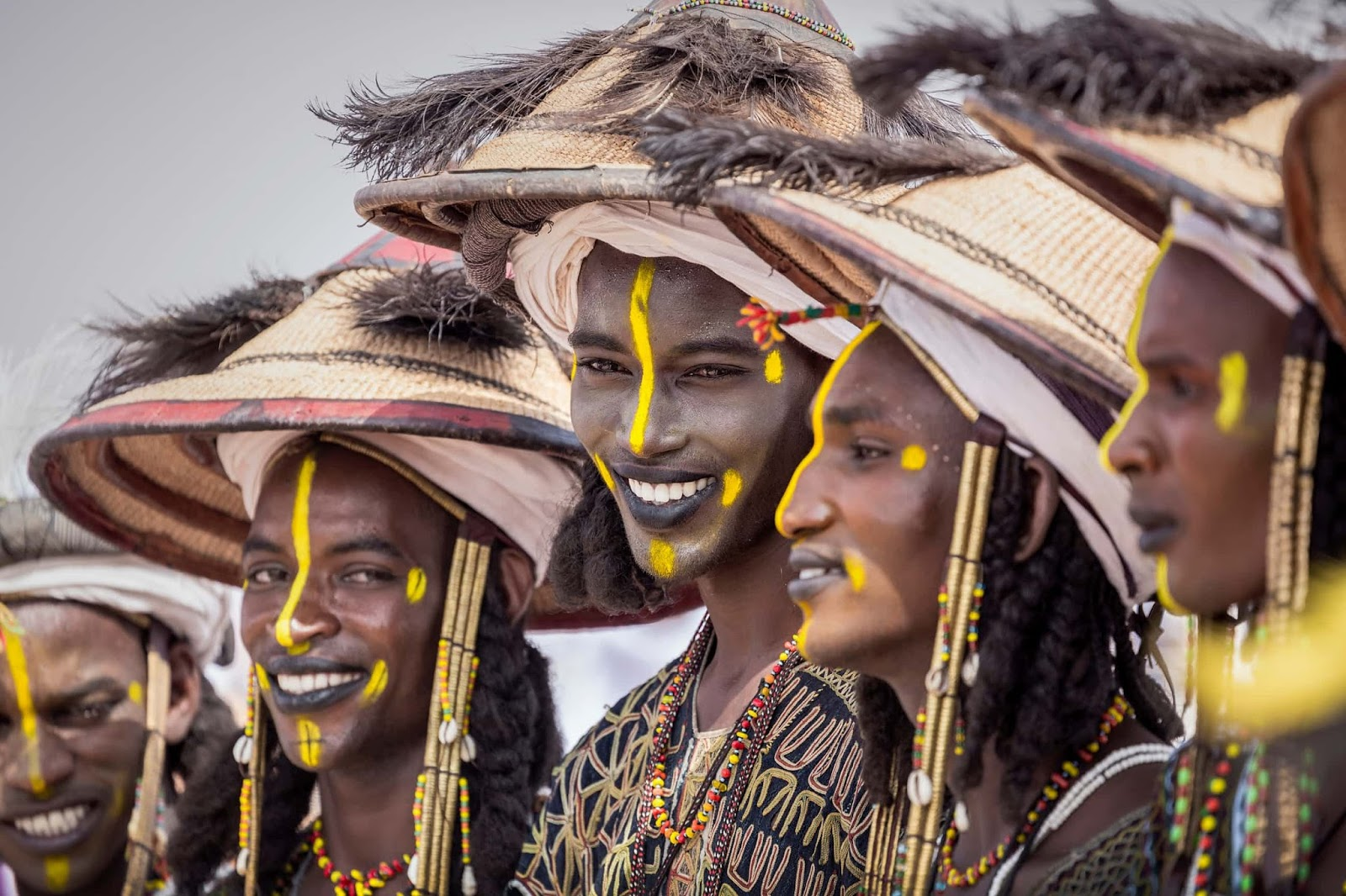 25 Of The Most Intriguing Pictures Of 2017 - Fulani youths take part in a male beauty contest