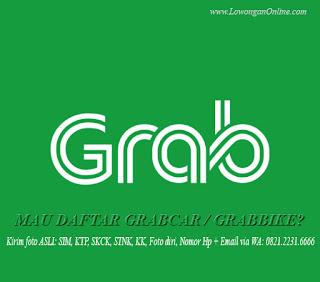 Pendaftaran Grabcar Grabbike