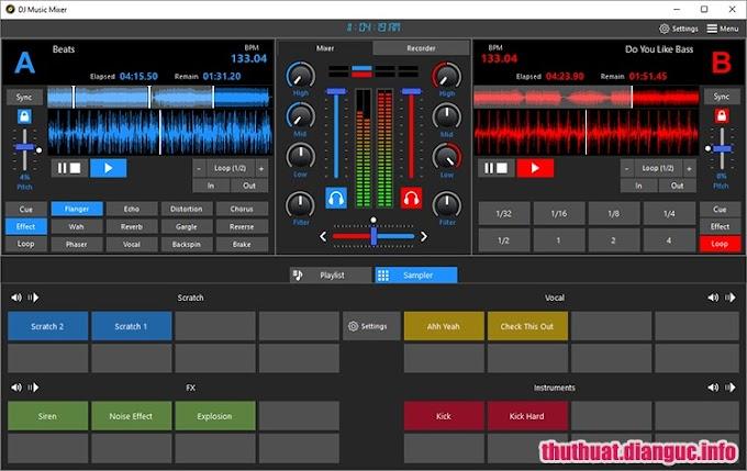 Download DJ Music Mixer 7.0.0 Multi Full Cr@ck