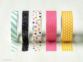 It's My Party, Washi Tape, Stampin' Up!