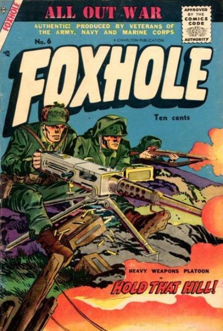 Kirby Foxhole Charlton Comics