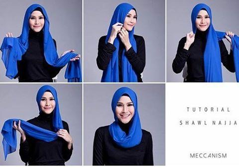 23 Tutorial Hijab Zaskia Adya Mecca Pashmina Segi Empat Instan Terbaru 2017 Tampil Cantik Dengan Hijab