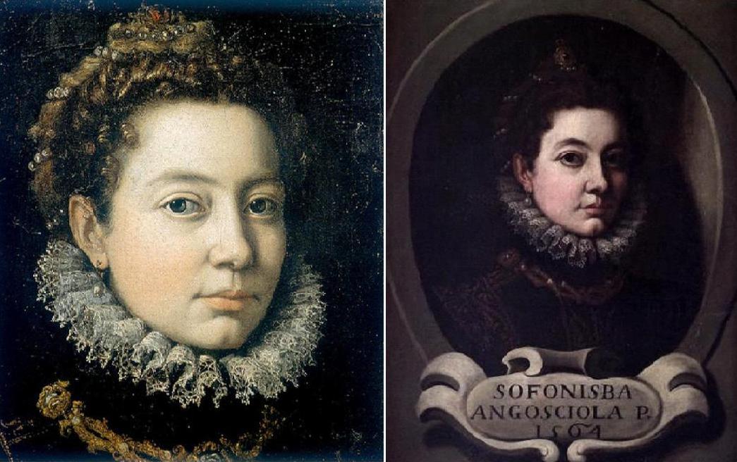 S.Anguissola%2BAuto%2By%2BRetrato%2BCastello%2B1564 - ¿Quién fue la primera mujer artista en la Historia del Arte?