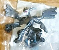 Zekrom figure overdrive pearly version Takara Tomy Monster Collection 2011 Tomy summer promo