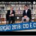 Cid Gomes concede entrevista a Paulo Henrique Amorim na TV Afiada
