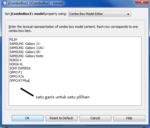 4 2 - Tutorial Mmebuat Aplikasi Penjualan HP Menggunakan Java