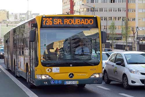 736 Lisbon Bus, Portugal.