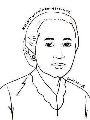 Ahmedatheism Gambar Mewarnai Ra Kartini