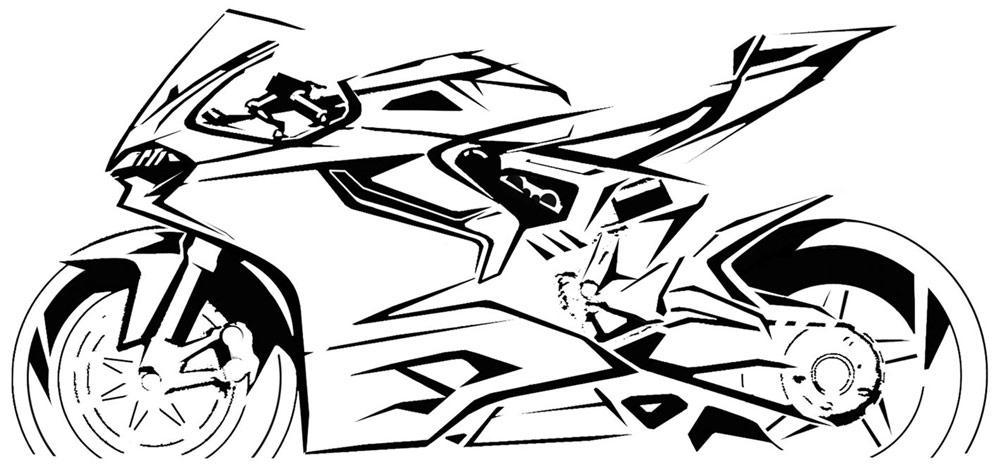 Vault: Ducati 1199 Sketches