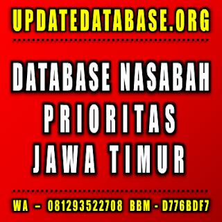 Jual Database Nasabah Prioritas Jawa Timur