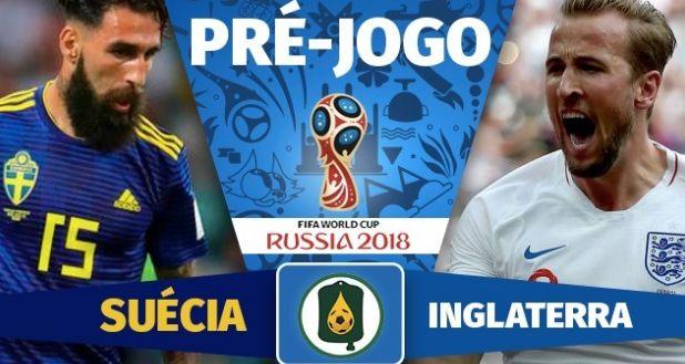 Assistir Melhores Momentos Jogo Suécia 0 x 2 Inglaterra Copa do Mundo Rússia