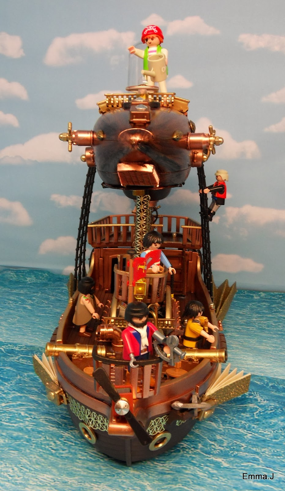 Steampunk Ship ~ Emma.J's Playmobil