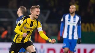 بروسيا دورتموند يتأهل لربع نهائي بطولة كأس ألمانيا بعد الفوز على هيرتا برلين بركلات الترجيح