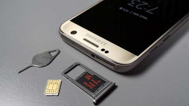 Samsung galaxy S7 xách tay có khả năng mở rộng bộ nhớ bằng thẻ nhớ ngoài