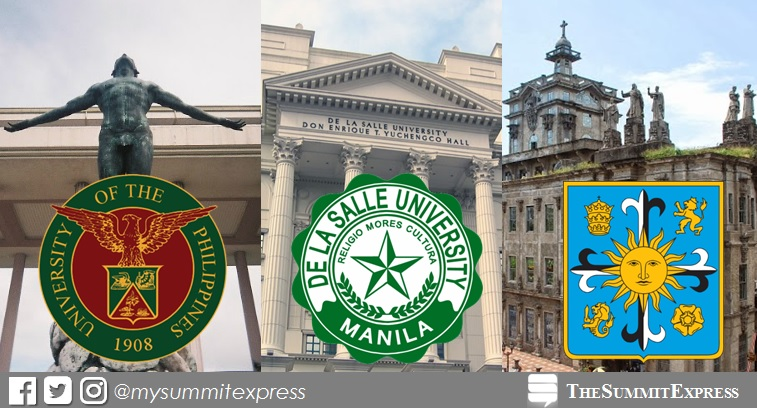 Top 150 Colleges, Universities in the Philippines 2016