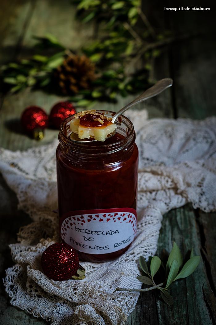 Mermelada de pimiento rojo ideal para quesos la - Como hacer mermelada de pimiento ...