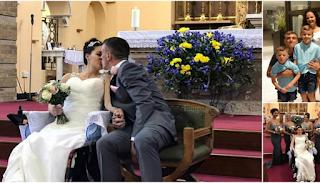 Μπράβο σου: Παντρεύτηκε την καρκινοπαθή γυναικά του που έχει μόλις 18 μήνες ζωή! Είναι ο έρωτα της ζωής της