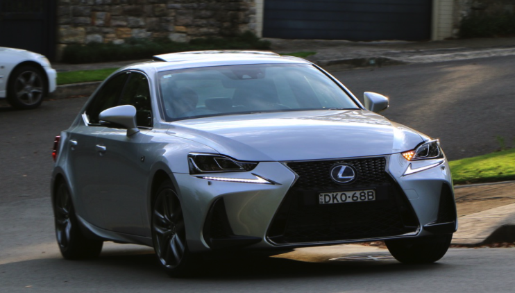 2017 lexus is350 f sport rwd review car and driver review. Black Bedroom Furniture Sets. Home Design Ideas