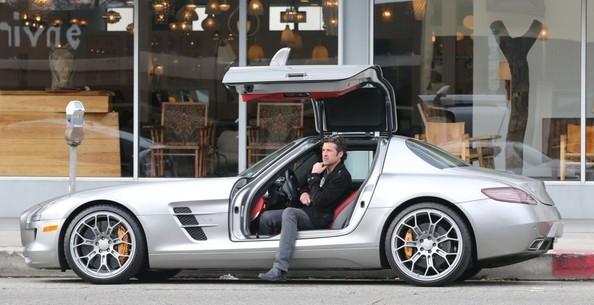 Patrick Dempsey - Mercedes SLS
