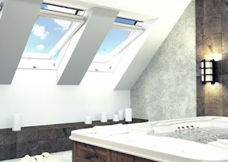 Okno dachowe w łazience