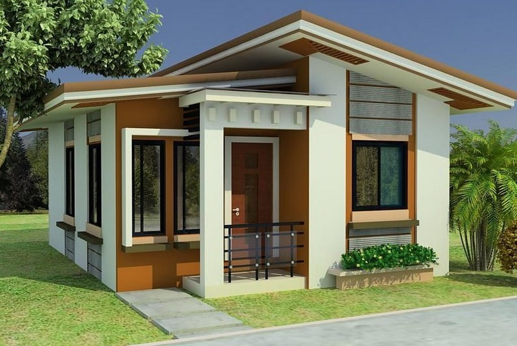 modern classic home design. MODERN SMALL CLASSIC HOUSE DESIGN WITH 3 BEDROOMS  1 SHARED BATHROOM