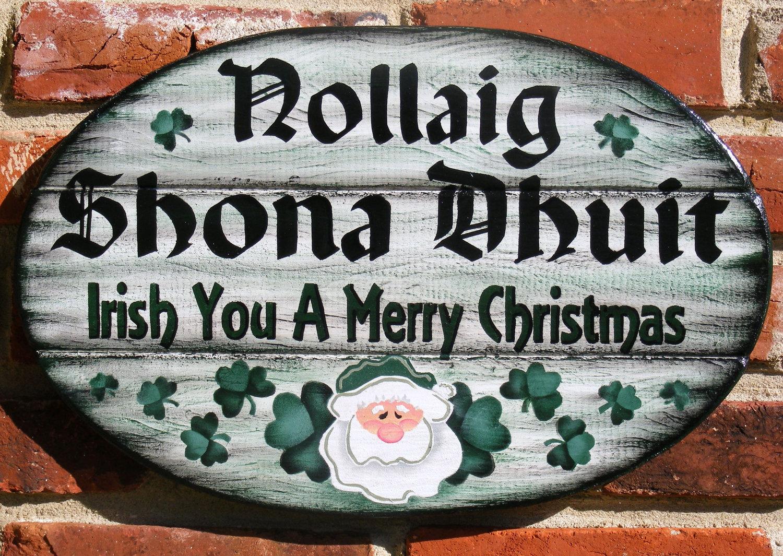 Merry Christmas In Irish.Elder Andrew Penman S Adventures In The Scotland Ireland